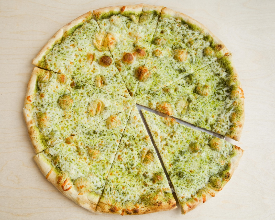 Downtown Pesto Pizza